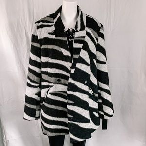 RD Style / Animal Print Coat - Size L